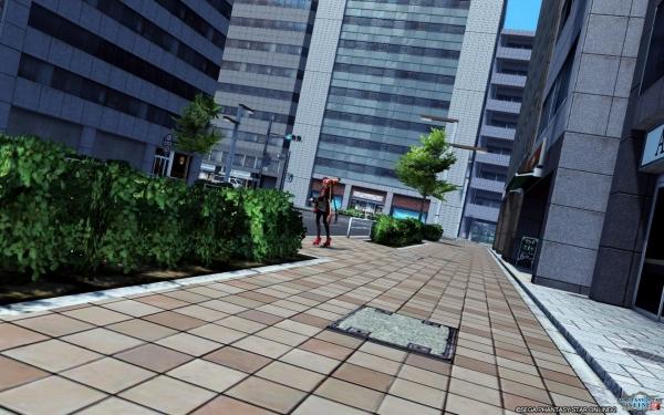 街角の光景