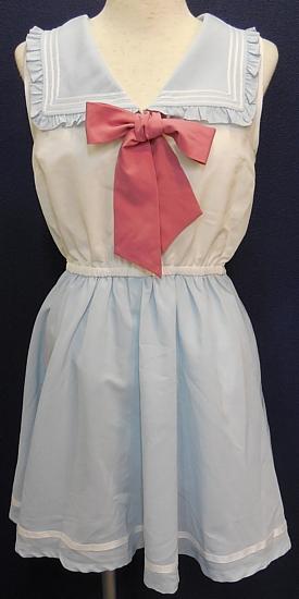 変形衿ワンピース (1)