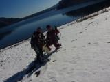 真冬の本栖湖 (1)
