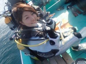 勝山かっちゃまダイビングノースエンド千手ドロップ (1)