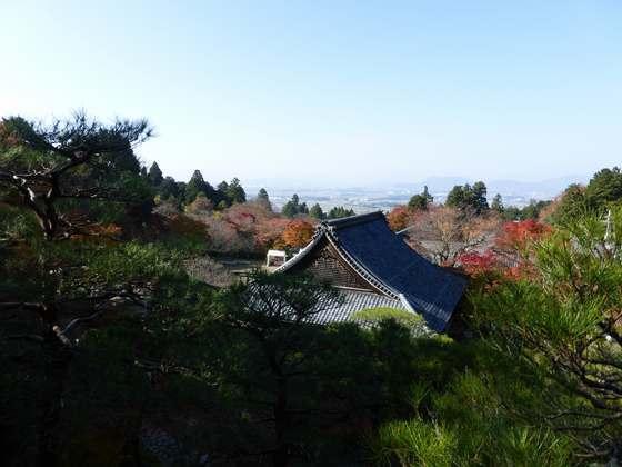 「遠望台」からは近江盆地も見渡せる