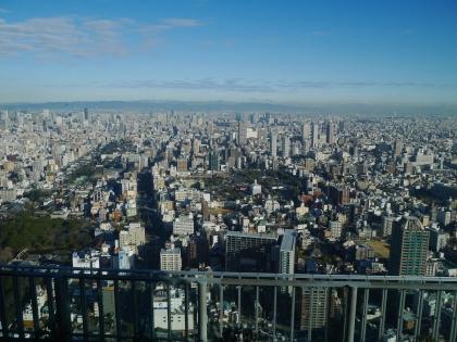 大阪マリオット都ホテル42階から