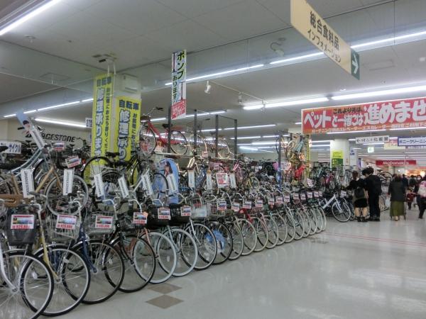 1階自転車