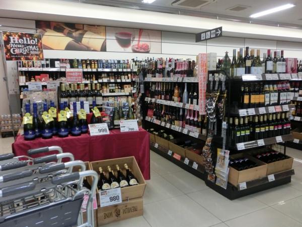 3階ワインコーナー
