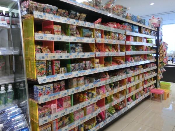 3階お菓子コーナー