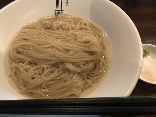 こんぶ水の麺