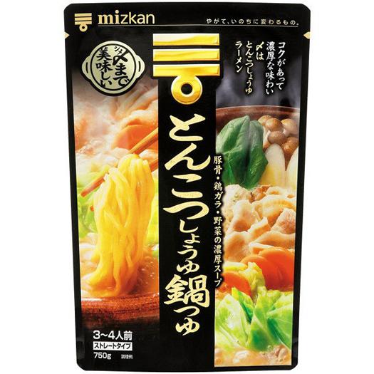 〆まで美味しい とんこつしょうゆ鍋つゆ(ミツカン)