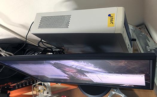 1万円の中古PCジャンクワールド_上面