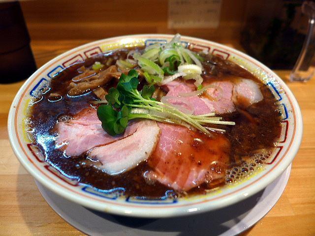 サバ6製麺所@02サバ醤油そば 1