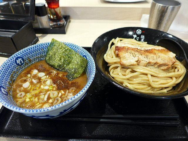 たけ井 R1号店@02濃厚豚骨魚介つけ麺 並 1
