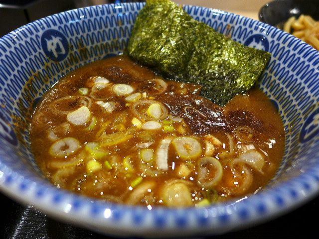 たけ井 R1号店@02濃厚豚骨魚介つけ麺 並 2