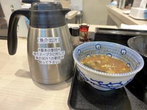 たけ井 R1号店@02濃厚豚骨魚介つけ麺 並 4