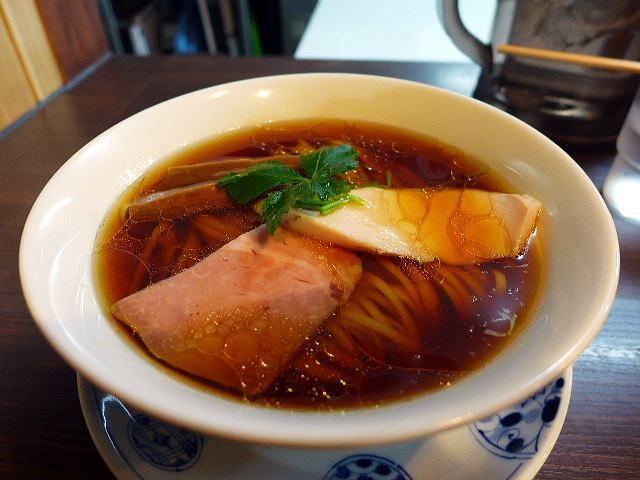 らぁ麺 紫陽花@01醤油らぁ麺 1
