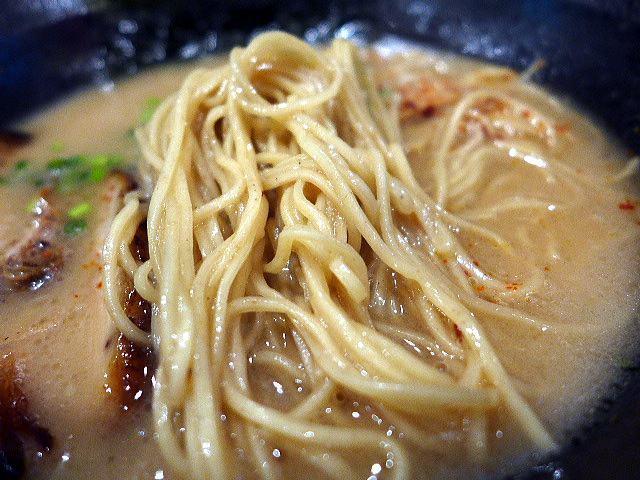 福島壱麺@01豚骨ラーメン 3