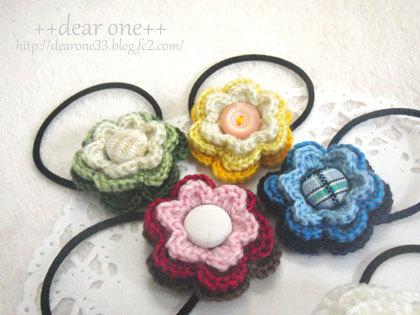 お花のヘアアクセサリー161209_2