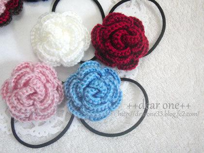 お花のヘアアクセサリー161209_3