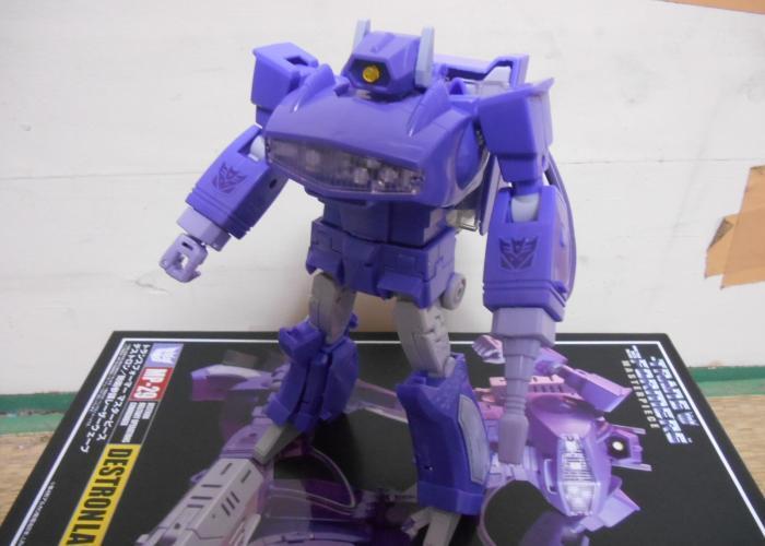 MPレーザーウェーブ ロボットモードその1
