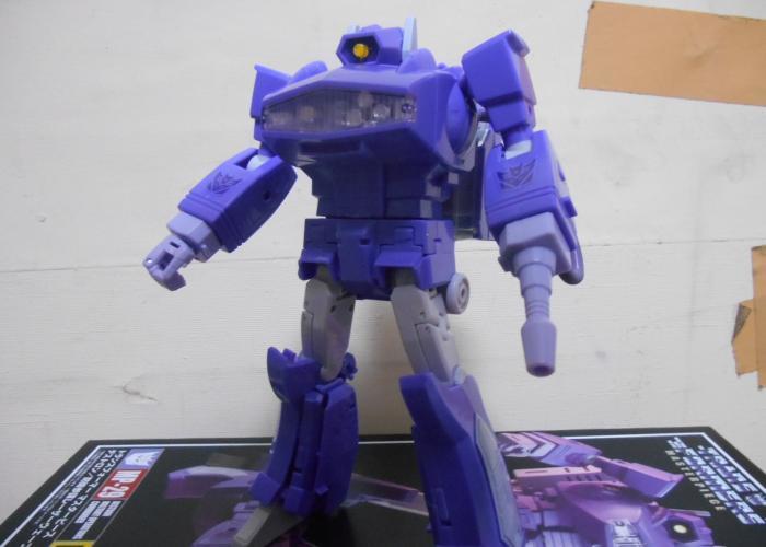 MPレーザーウェーブ ロボットモードその2
