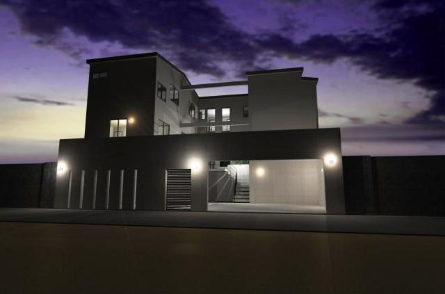 滋賀 注文住宅 滋賀県 大津市 二世帯 ガレージハウス