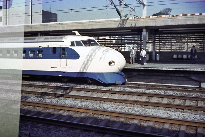 国鉄東海道新幹線こだま号_小田原駅