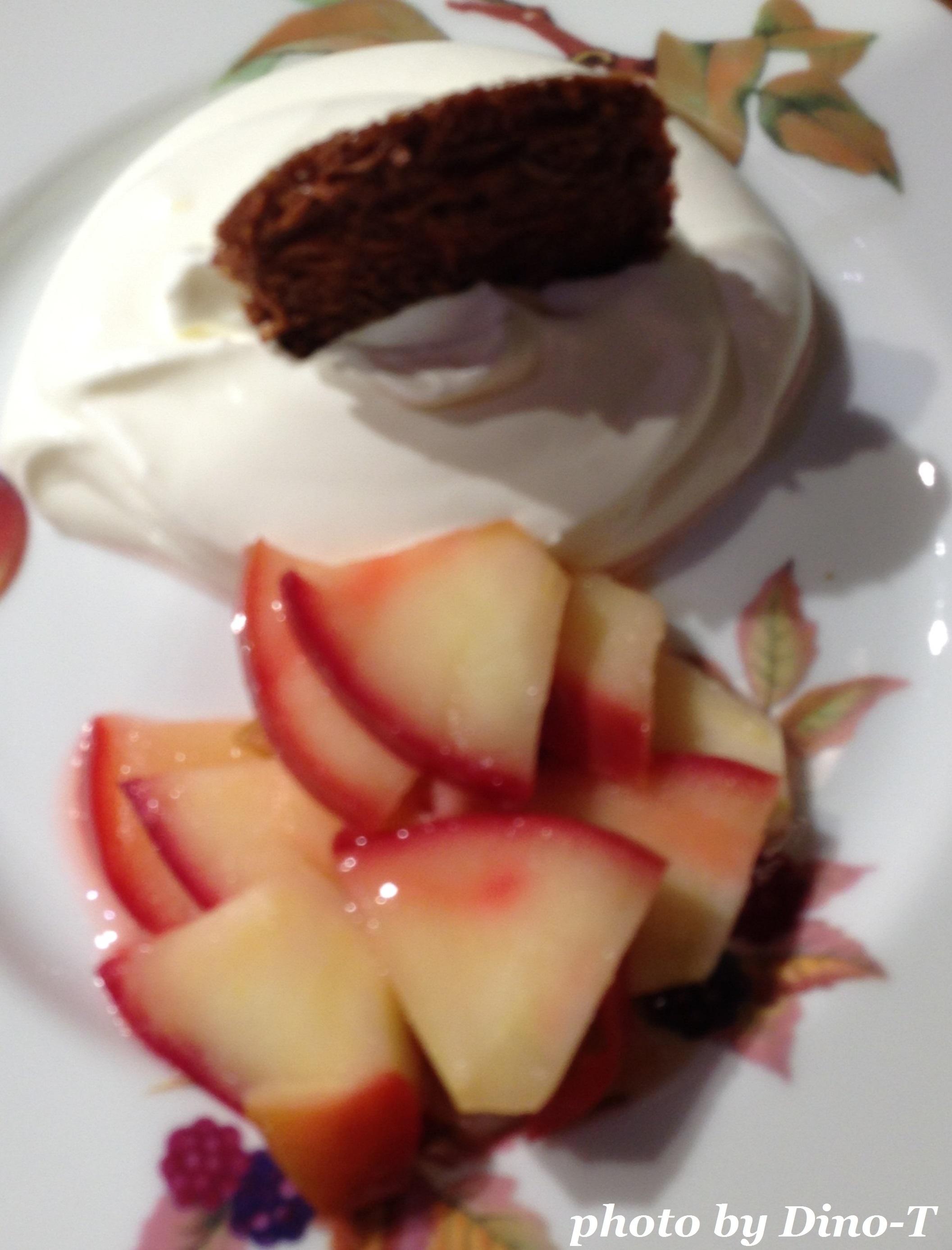 林檎とガレットのデザート2