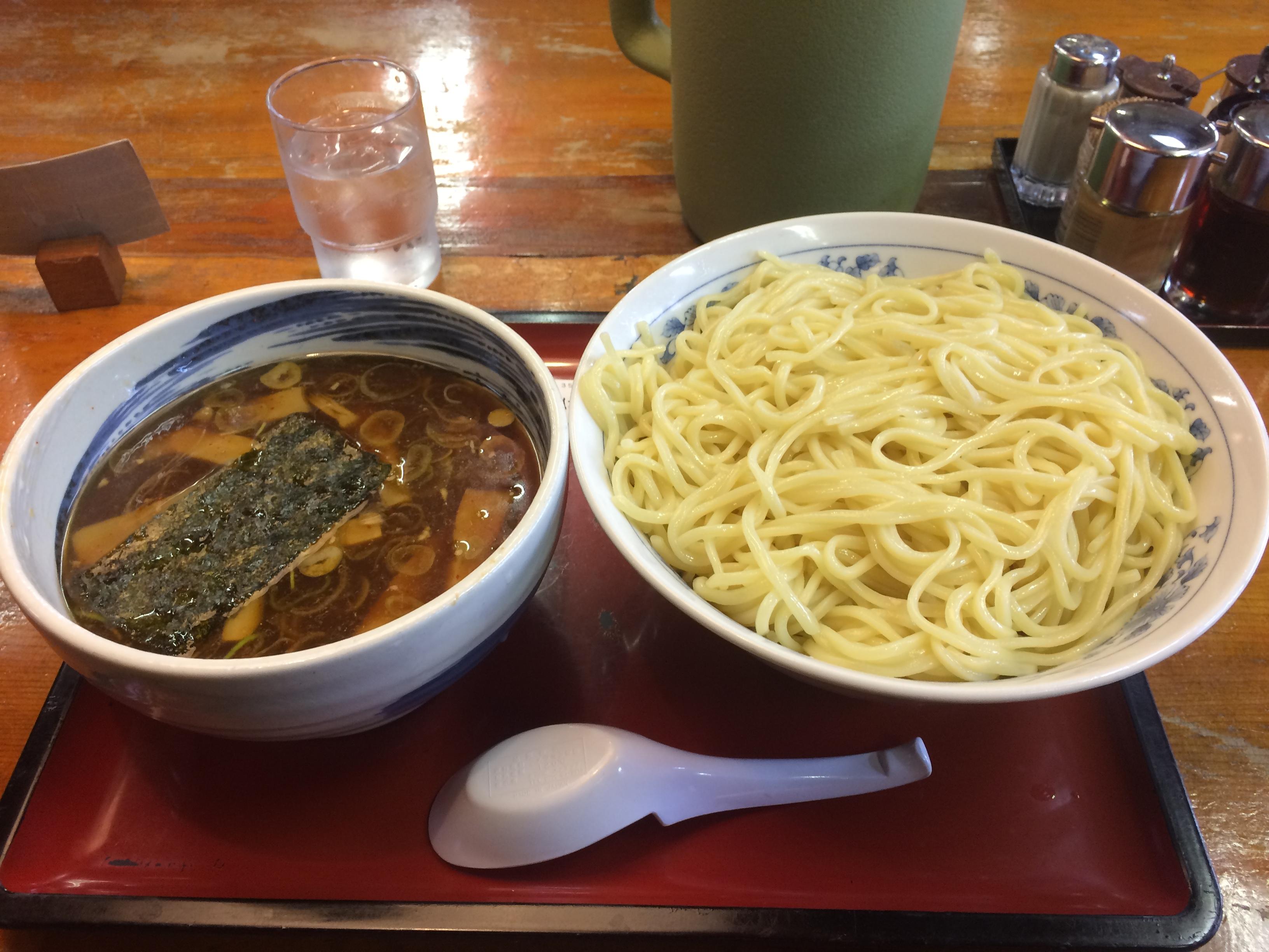 【ラーメン探訪】つけそば 小金井大勝軒大盛り 830円