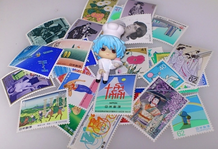 62円 41円切手