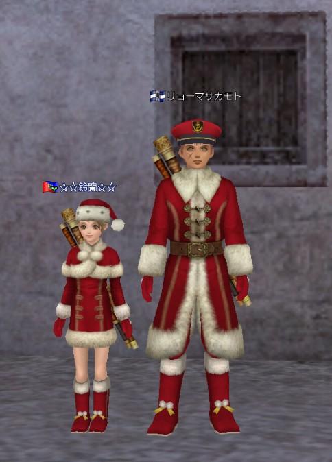 クリスマス衣装2016