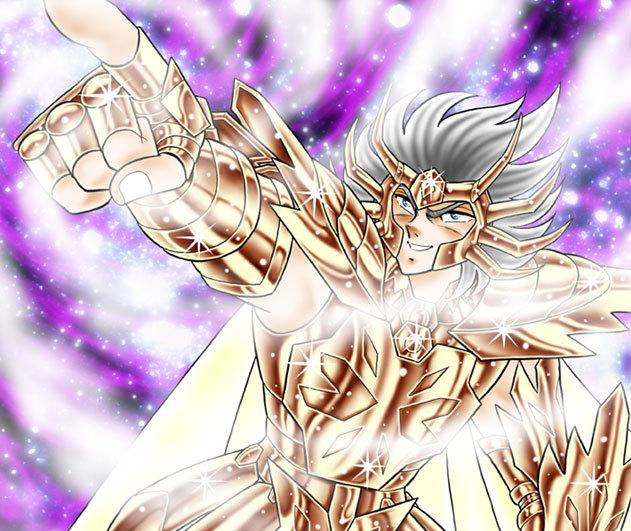 黄金聖闘士デスマスク