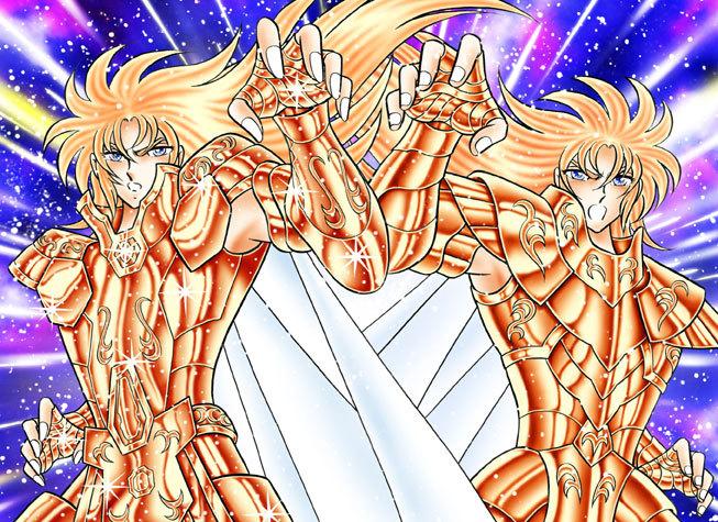 黄金聖闘士サガ&カノン