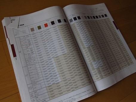 ソファ色チャート1