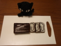 黒猫と昆布蒲鉾