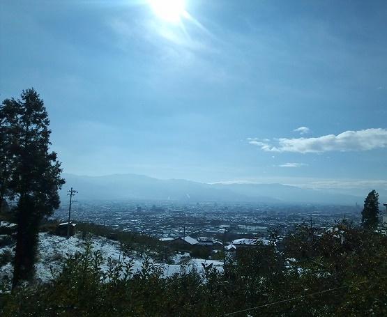 雪の翌日 (2)
