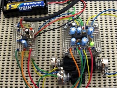 1石アンプ+TA2011Sコンプレッサー
