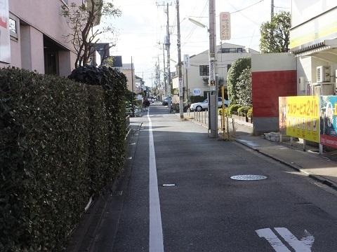 渋谷町水道みち・環八通り西
