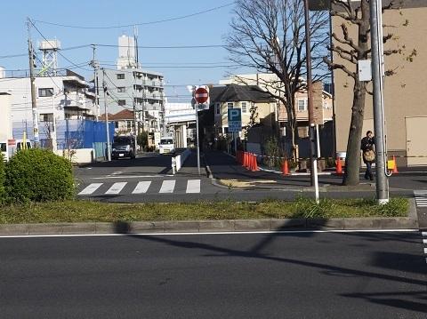 渋谷町水道みち・環八通りと交差