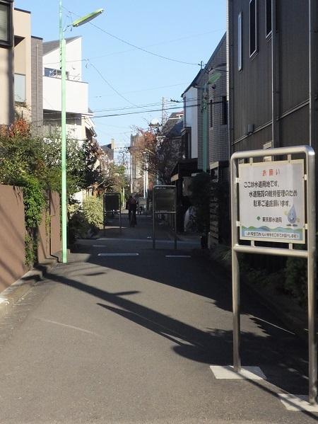 渋谷町水道みち