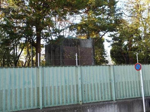 駒沢給水所・ベンチュリーメーター室