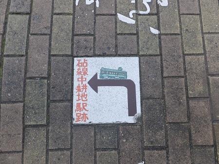 砧線中耕地駅跡