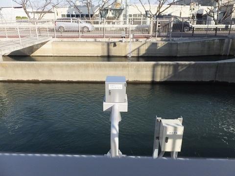 長野制水ゲート水位計