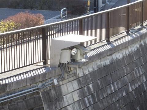 妙正寺川取水施設監視カメラ