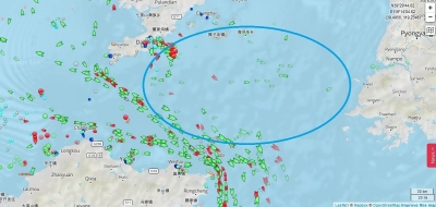 20170128 marine traffic