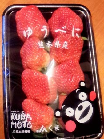 熊本のいちご、ゆうべに