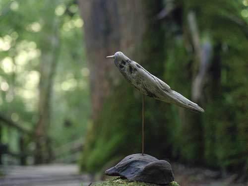 流木の鳥ー2016-12-1-2
