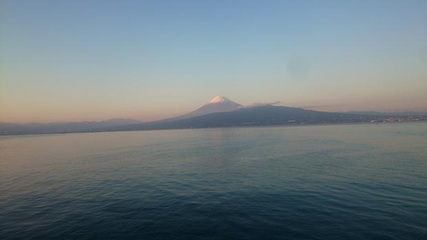 161225夕日富士山