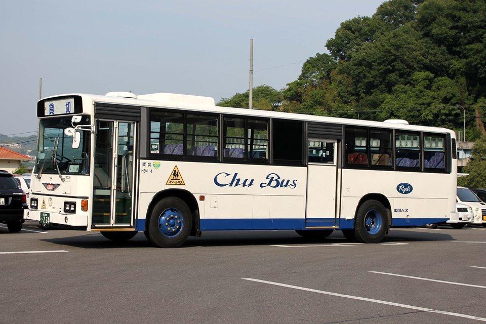 中国バス H9414