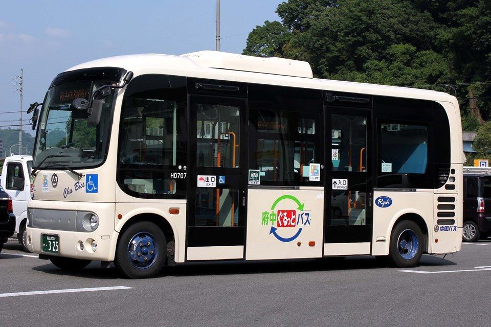 中国バス H0707