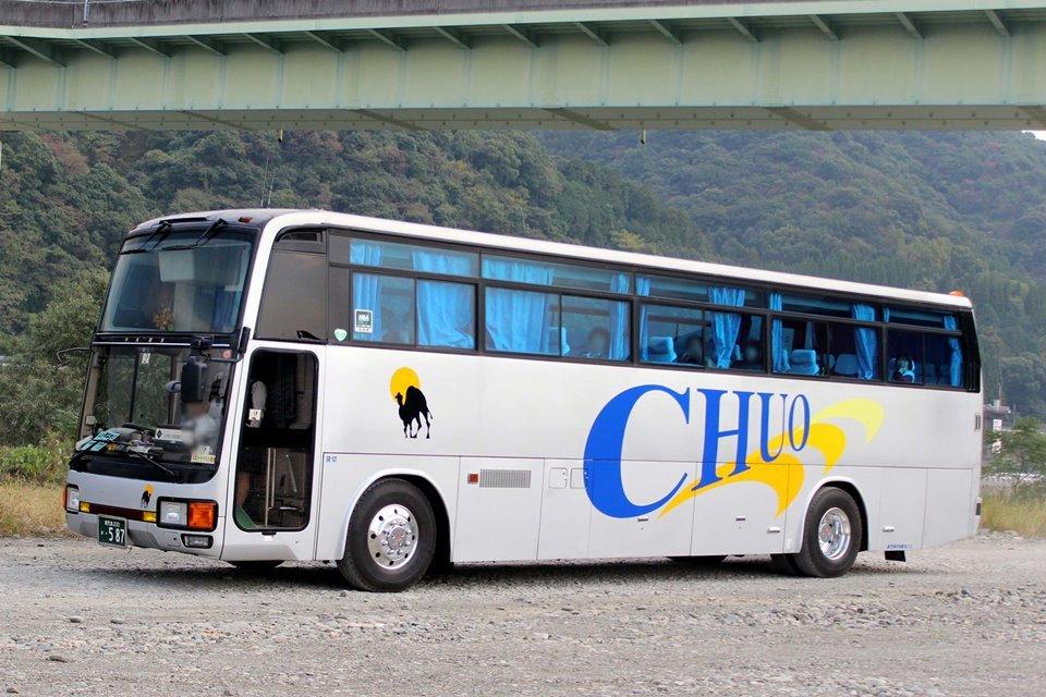 鹿児島中央観光バス か587