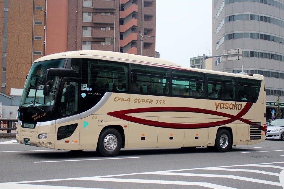 ヤサカ観光バス か1108