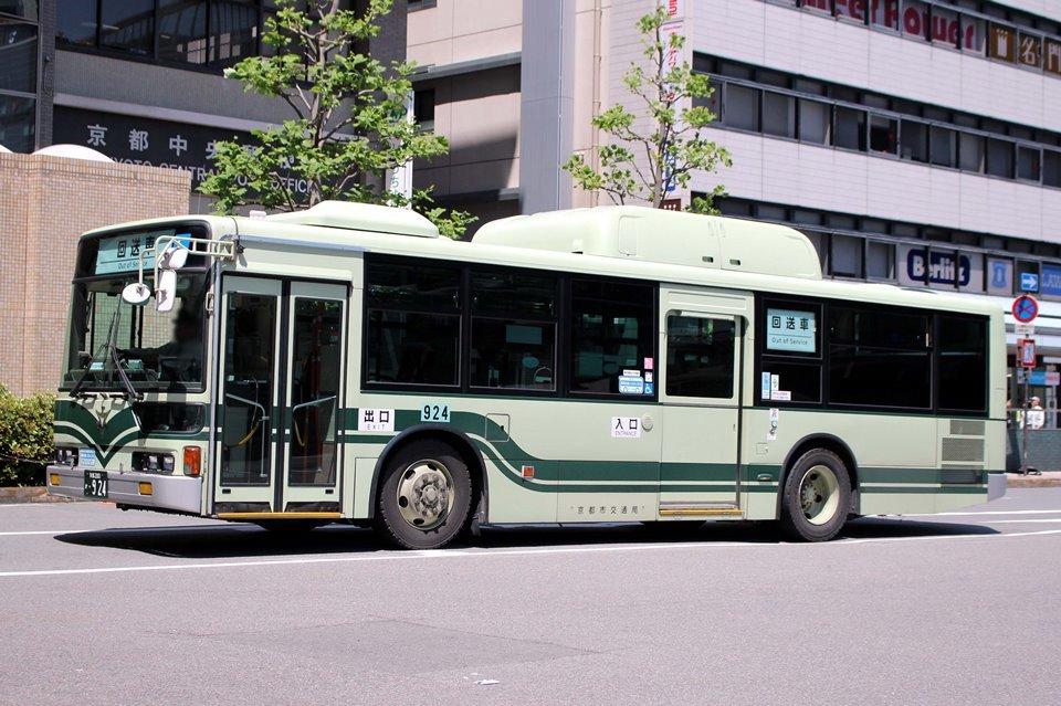京都市交通局 か924